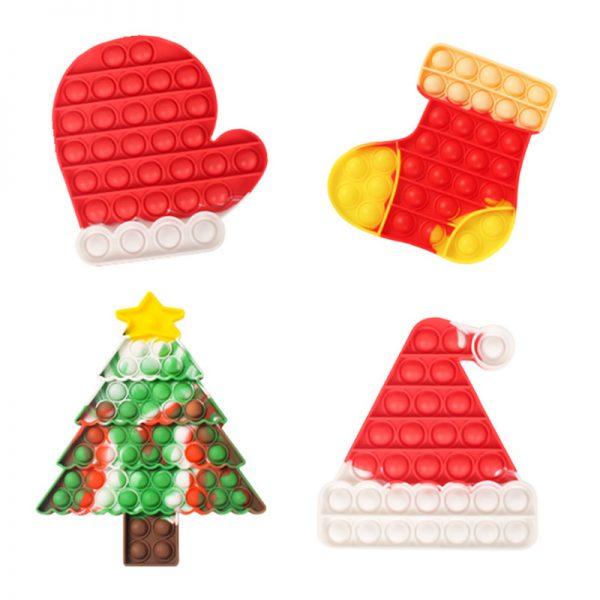 christmas Pop Fidget Toy