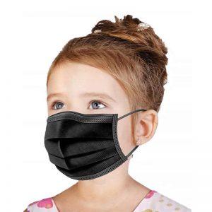 wecolor kid black mask